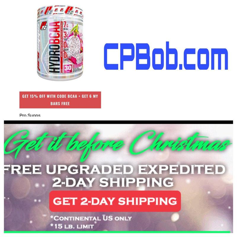 b40e0eb18 CPBob.com Weekly Deals - Supplement Deals - PricePlow Forum