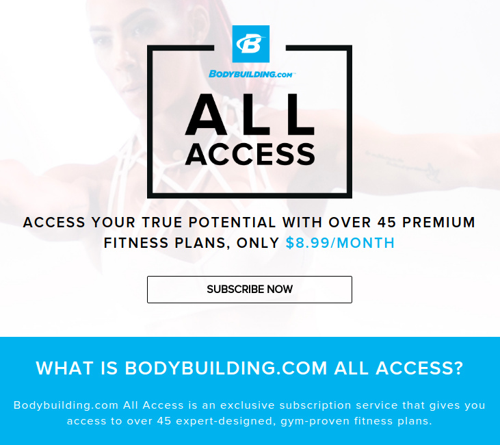 $8 99/month?! Did Bodybuilding com Just Switch to a Paid Model for