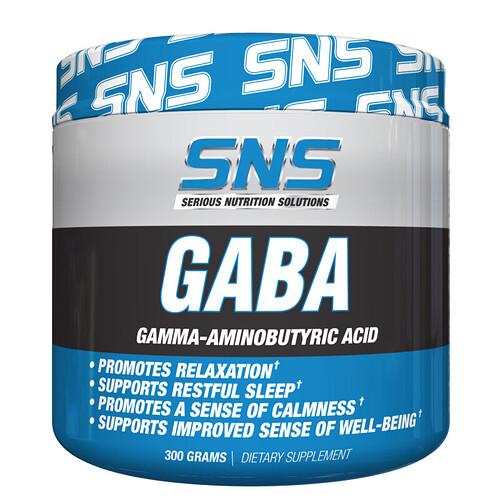 GABA Powder Rendering (Front)