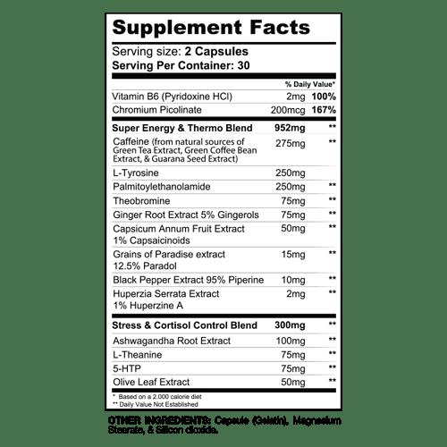 DTN8 Ingredients