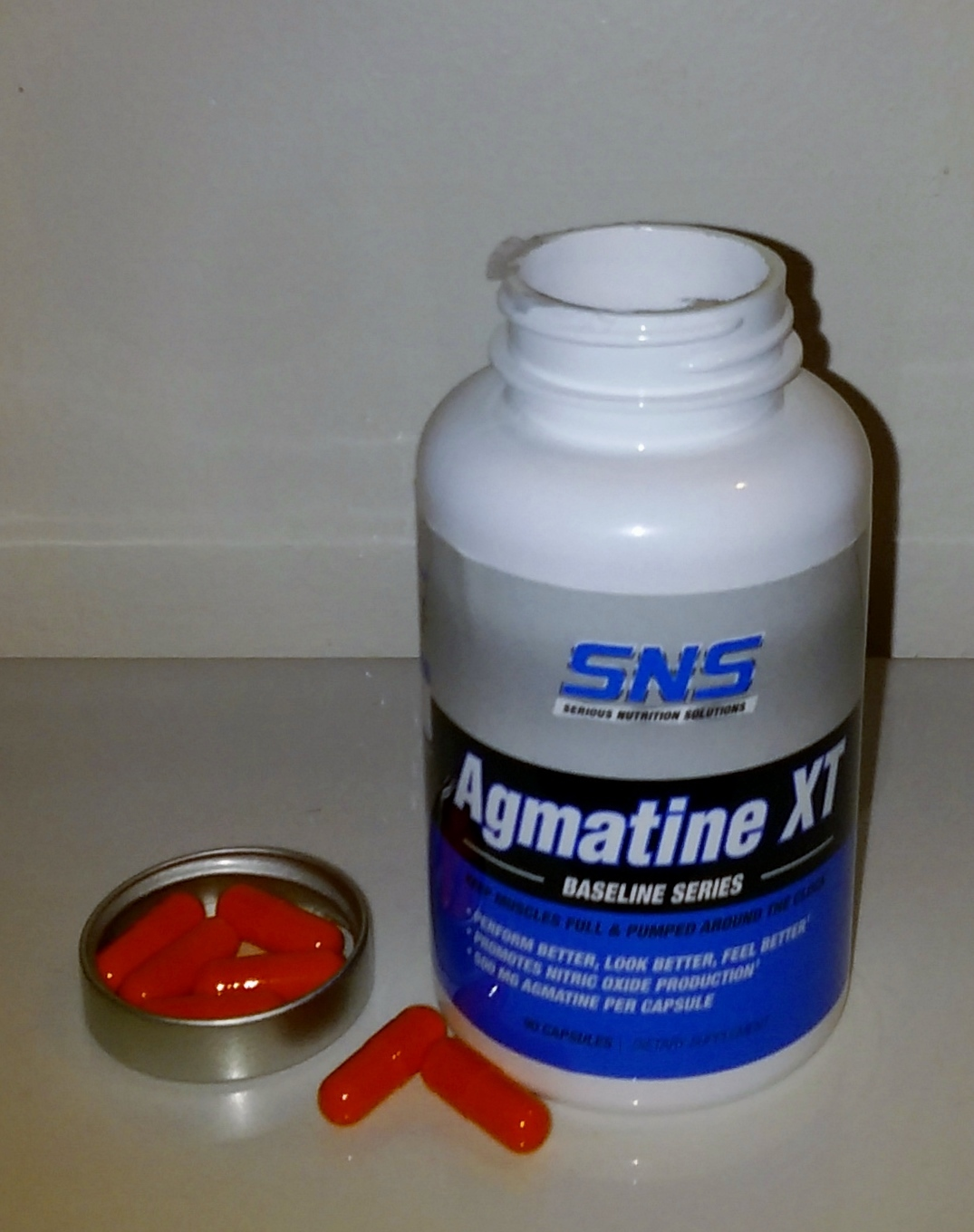 SNS Agmatine XT -- New Log - Supplement Logs - PricePlow Forum